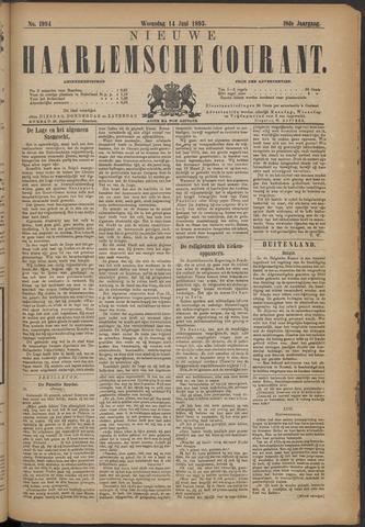 Nieuwe Haarlemsche Courant 1893-06-14