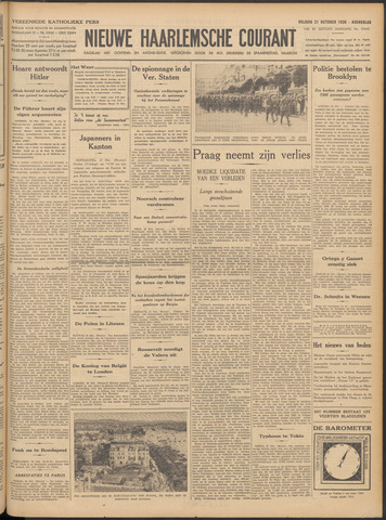 Nieuwe Haarlemsche Courant 1938-10-21