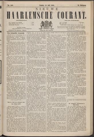 Nieuwe Haarlemsche Courant 1881-07-24