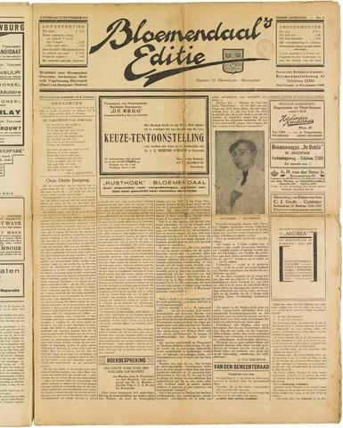 Bloemendaal's Editie 1927-09-17