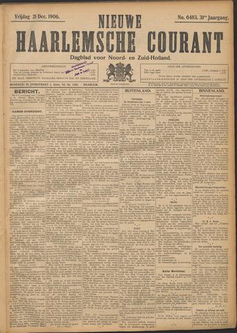 Nieuwe Haarlemsche Courant 1906-12-21