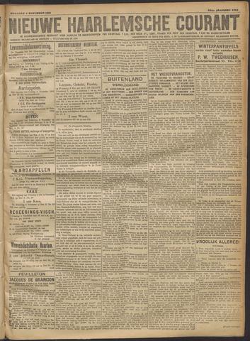 Nieuwe Haarlemsche Courant 1918-11-04