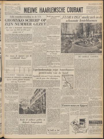 Nieuwe Haarlemsche Courant 1953-03-12