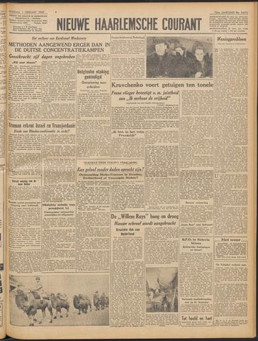 Nieuwe Haarlemsche Courant 1949-02-01