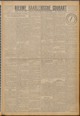 Nieuwe Haarlemsche Courant 1924-05-16