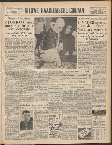 Nieuwe Haarlemsche Courant 1957-10-28