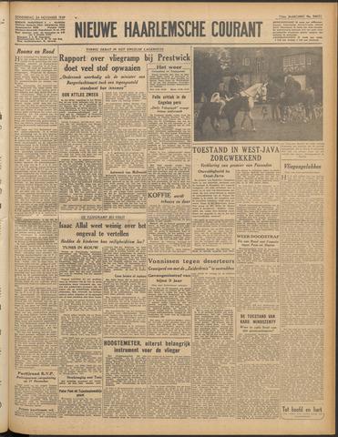 Nieuwe Haarlemsche Courant 1949-11-24