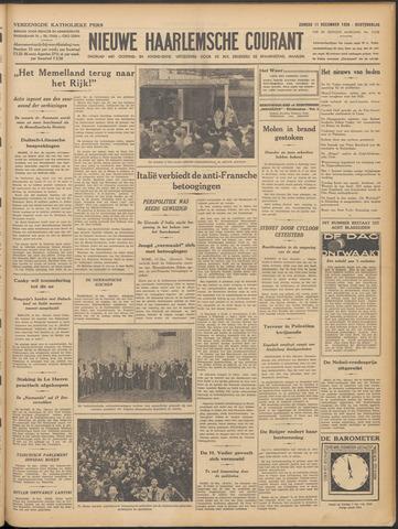 Nieuwe Haarlemsche Courant 1938-12-11