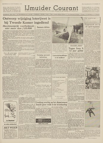 IJmuider Courant 1959-11-24