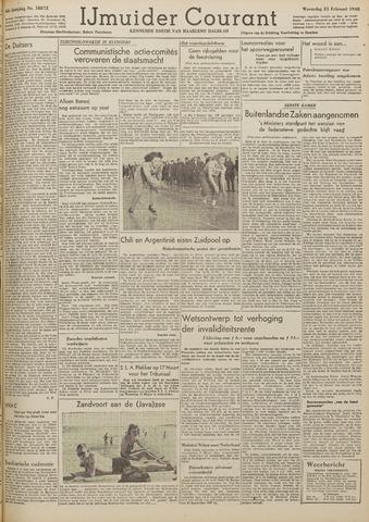 IJmuider Courant 1948-02-25