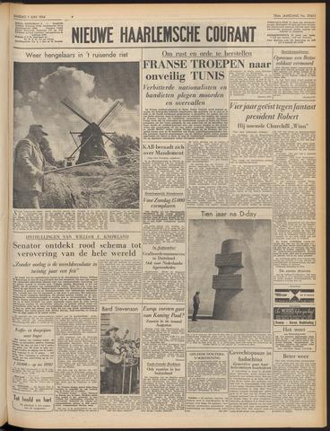 Nieuwe Haarlemsche Courant 1954-06-01