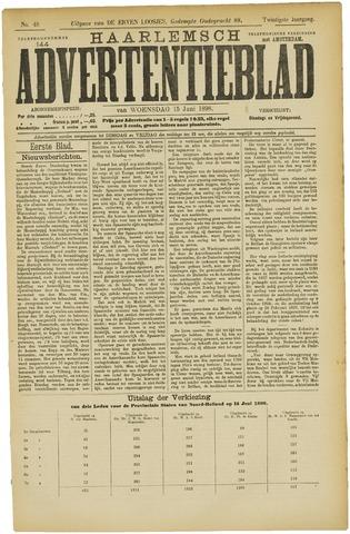 Haarlemsch Advertentieblad 1898-06-15