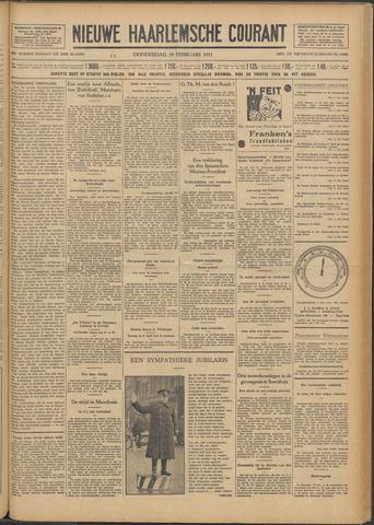 Nieuwe Haarlemsche Courant 1931-02-19