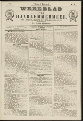Weekblad van Haarlemmermeer 1872-02-02