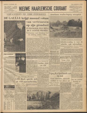 Nieuwe Haarlemsche Courant 1958-09-29