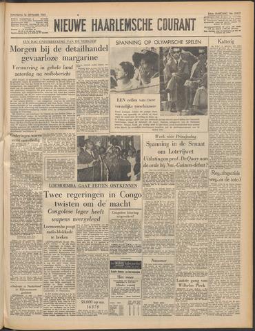 Nieuwe Haarlemsche Courant 1960-09-12