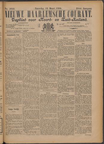 Nieuwe Haarlemsche Courant 1904-03-12