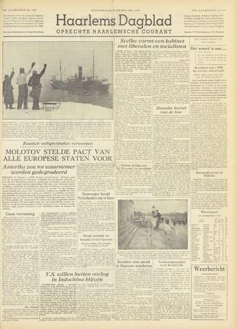Haarlem's Dagblad 1954-02-11