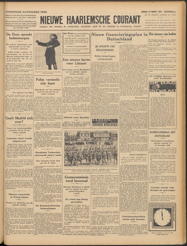 Nieuwe Haarlemsche Courant 1939-03-26