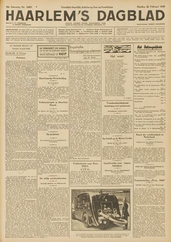 Haarlem's Dagblad 1935-02-26