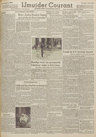 IJmuider Courant 1948-04-07