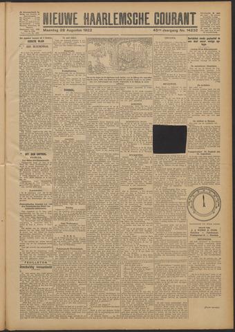 Nieuwe Haarlemsche Courant 1922-08-28