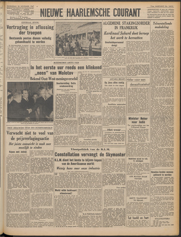 Nieuwe Haarlemsche Courant 1947-11-26