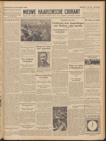 Nieuwe Haarlemsche Courant 1939-07-27