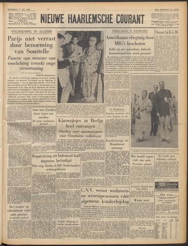 Nieuwe Haarlemsche Courant 1958-07-09