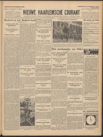 Nieuwe Haarlemsche Courant 1934-08-21