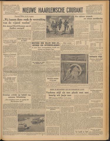 Nieuwe Haarlemsche Courant 1950-09-14
