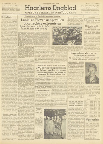 Haarlem's Dagblad 1954-04-05