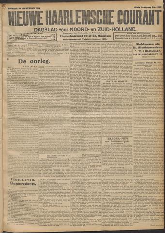 Nieuwe Haarlemsche Courant 1914-11-24