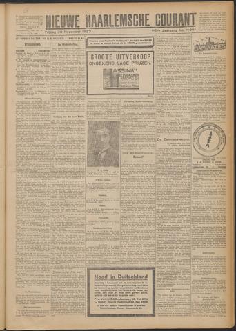 Nieuwe Haarlemsche Courant 1923-11-30