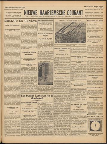 Nieuwe Haarlemsche Courant 1934-04-13