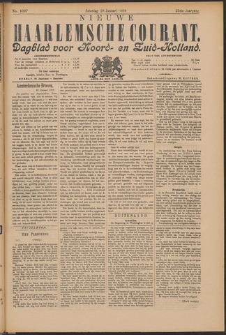 Nieuwe Haarlemsche Courant 1899-01-28