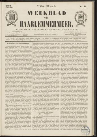 Weekblad van Haarlemmermeer 1860-04-20