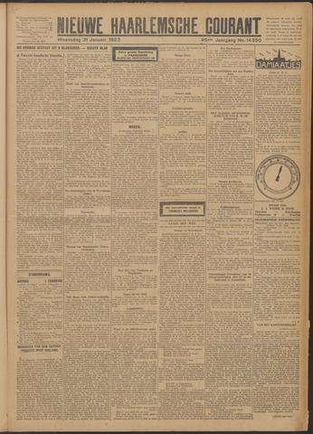 Nieuwe Haarlemsche Courant 1923-01-31