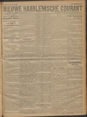 Nieuwe Haarlemsche Courant 1919-03-27