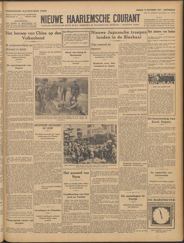 Nieuwe Haarlemsche Courant 1937-09-14