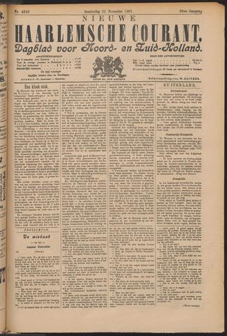 Nieuwe Haarlemsche Courant 1901-11-21