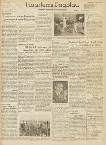 Haarlem's Dagblad 1950-01-28