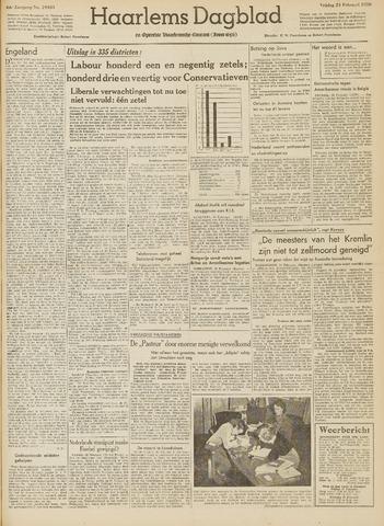 Haarlem's Dagblad 1950-02-24