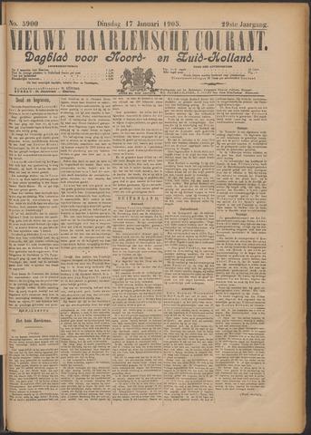 Nieuwe Haarlemsche Courant 1905-01-17