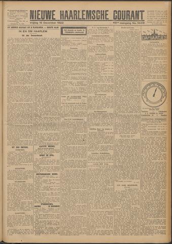 Nieuwe Haarlemsche Courant 1922-12-15