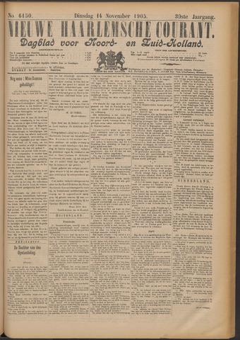 Nieuwe Haarlemsche Courant 1905-11-14