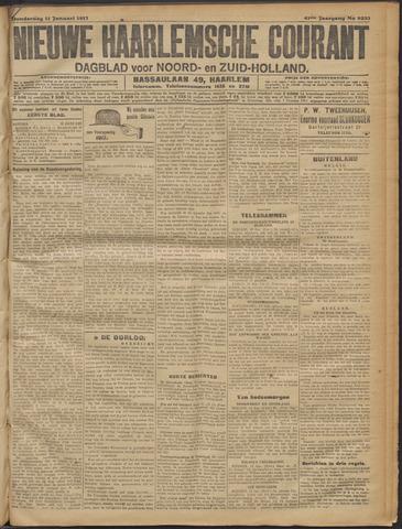 Nieuwe Haarlemsche Courant 1917-01-11