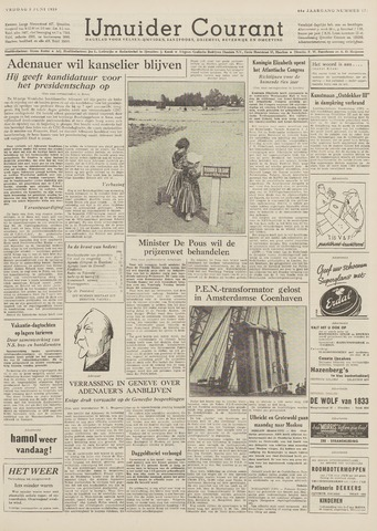 IJmuider Courant 1959-06-05