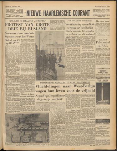 Nieuwe Haarlemsche Courant 1961-08-18