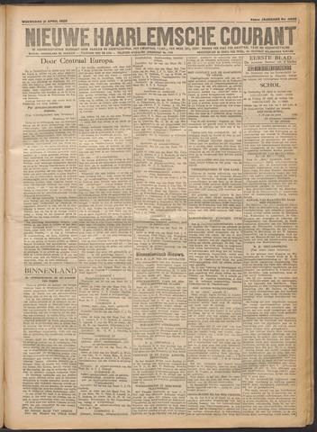 Nieuwe Haarlemsche Courant 1920-04-21